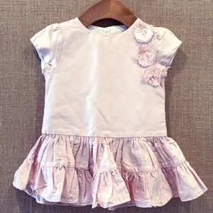 Marie Chantal 100% Silk Dress Size 12 Months
